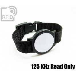 Braccialetti RFID ABS tondo Read Only 125 Khz