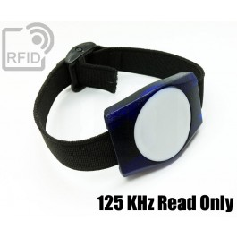 Braccialetti RFID ABS rettangolare 125 KHz Read Only