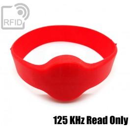 Bracciali RFID silicone tondo Read Only 125 Khz