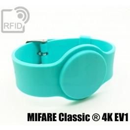 Braccialetti RFID silicone fibbia MIFARE Classic ® 4K EV1