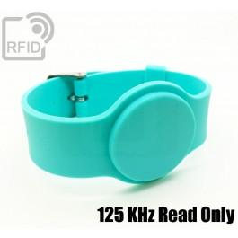 Braccialetti RFID silicone con fibbia Read Only 125 Khz