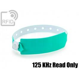 Braccialetti RFID vinile monouso 125 KHz Read Only