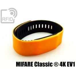Braccialetti RFID silicone bicolore MIFARE Classic ® 4K EV1