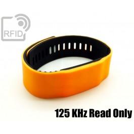 Braccialetti RFID silicone bicolore Read Only 125 Khz