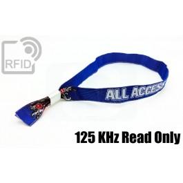 Braccialetti RFID in tessuto Read Only 125 Khz