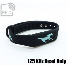 Braccialetti RFID silicone fitness 125 KHz Read Only