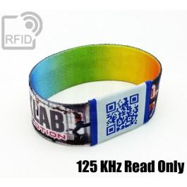 Braccialetti RFID elastico 25 mm Read Only 125 Khz