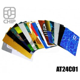 Tessere chip card personalizzate AT24C01