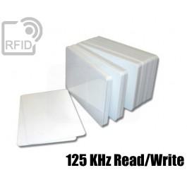 Tessere card bianche RFID 125 KHz Read/Write 1