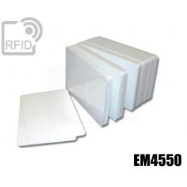 Tessere card bianche RFID EM4550