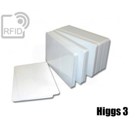 Tessere card bianche RFID Higgs 3
