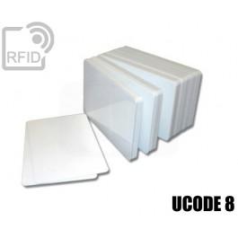 Tessere card bianche RFID UCODE 8