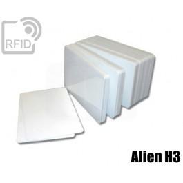 Tessere card bianche RFID Alien H3 1