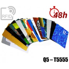 Tessere card stampa 48H RFID Q5 – T5555 1