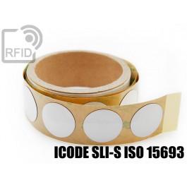 Etichette RFID antimetallo 30 mm ICODE SLI-S ISO 15693 1