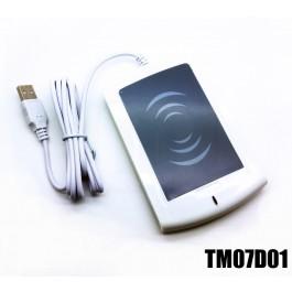 Lettore RFID USB emulazione tastiera HID ISO14443 A 13.56MHz 1
