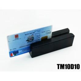 Lettore banda magnetica Tessera Sanitaria Tracce 1 2 3 USB