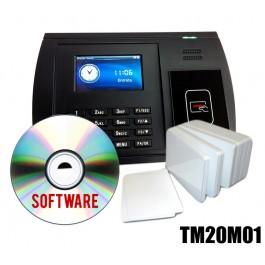 KIT Timbracartellino +Software +Badge RFID MIFARE 13,56MHz 1