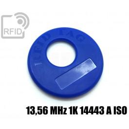 Disco RFID prodotti appesi 13,56 MHz 1K 14443 A ISO