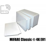 Tessere card bianche RFID MIFARE Classic ® 4K