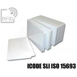 Tessere card bianche RFID ICODE SLI ISO 15693