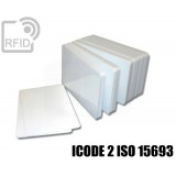 Tessere card bianche RFID ICODE 2 ISO 15693