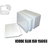 Tessere card bianche RFID ICODE SLIX ISO 15693