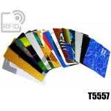 Tessere card personalizzate RFID T5557