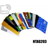 Tessere card personalizzate RFID NFC NTAG203