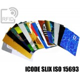 Tessere card personalizzate RFID ICODE SLIX ISO 15693