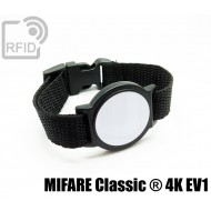 Braccialetti RFID ABS tondo MIFARE Classic ® 4K EV1