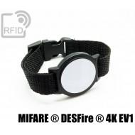 Braccialetti RFID ABS tondo NFC DESFire ® 4K EV1