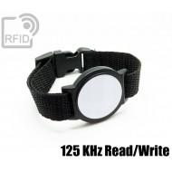 Braccialetti RFID ABS tondo Read/Write 125 Khz