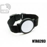 Braccialetti RFID ABS tondo NFC NTAG203
