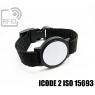 Braccialetti RFID ABS tondo ICODE 2 ISO 15693