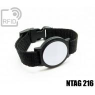 Braccialetti RFID ABS tondo NFC NTAG216