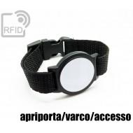 Braccialetti RFID ABS tondo apriporta/varco/accesso