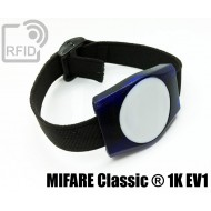Braccialetti RFID ABS rettangolare MIFARE Classic ® 1K EV1