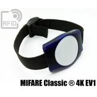 Braccialetti RFID ABS rettangolare MIFARE Classic ® 4K EV1