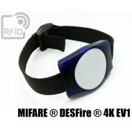 Braccialetti RFID ABS rettangolare NFC MIFARE ® DESFire ® 4K