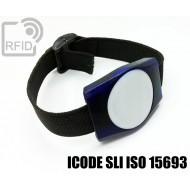 Braccialetti RFID ABS rettangolare ICODE SLI ISO 15693