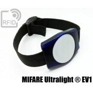 Braccialetti RFID ABS rettangolare NFC MIFARE Ultralight ® E