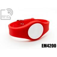 Braccialetti RFID regolabile EM4200