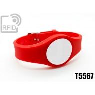 Braccialetti RFID regolabile T5567
