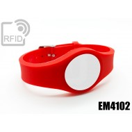Braccialetti RFID regolabile EM4102