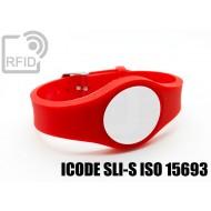 Braccialetti RFID regolabile ICODE SLI-S ISO 15693