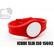 Braccialetti RFID regolabile ICODE SLIX ISO 15693