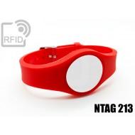 Braccialetti RFID regolabile NFC NTAG213
