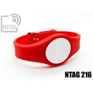 Braccialetti RFID regolabile NFC NTAG216