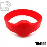 Bracciali RFID silicone tondo TK4100